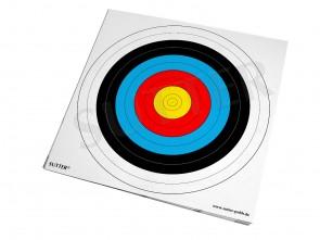 Bogenscheiben 42x42cm (Zielscheiben) - 20er Pack