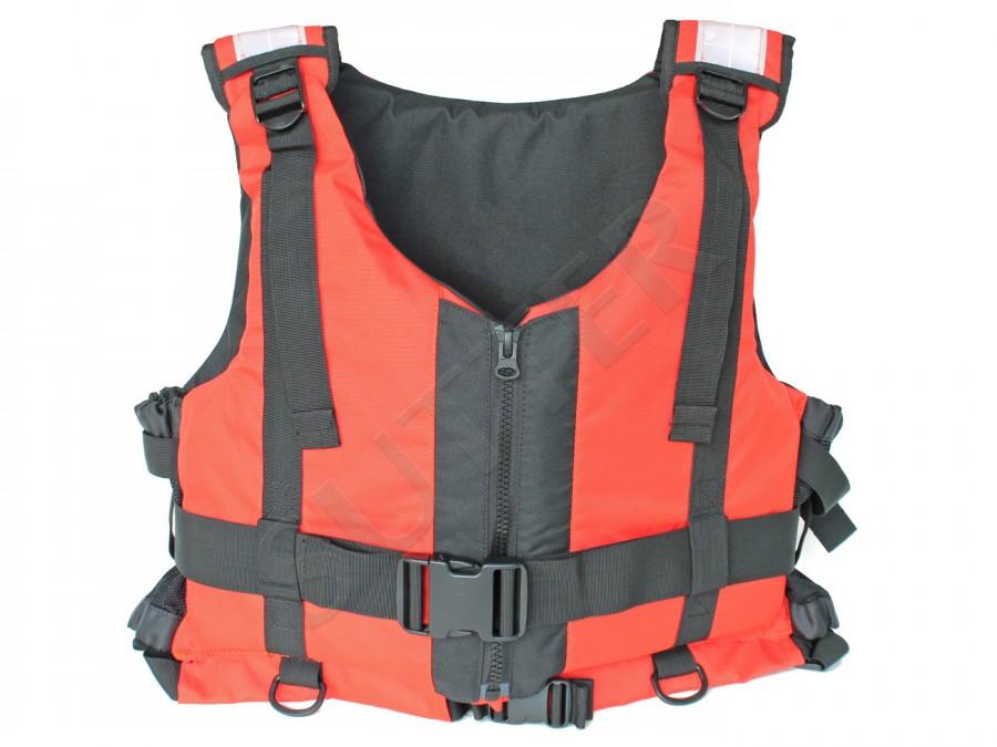 Feststoff Rettungsweste (Schwimmweste / Schwimmhilfe), 50kg - 90kg, bis 50N, orange