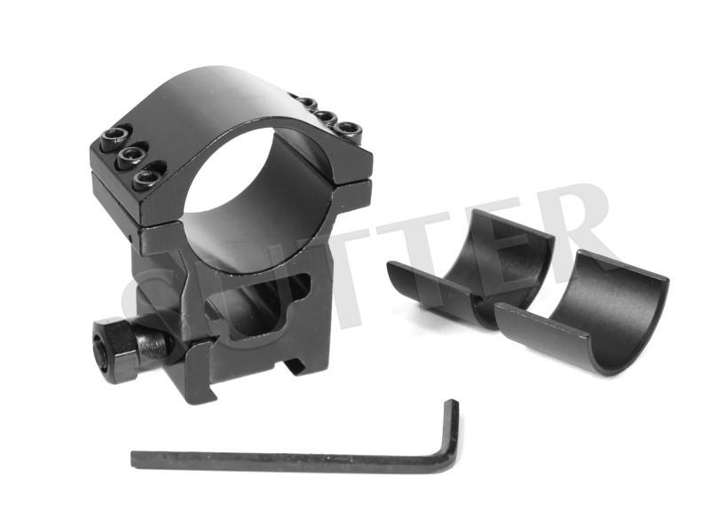 Magnum Montage Ring - Für 11mm oder 19mm Schienen - Durchmesser 25,4 & 30mm (Einlegestücke)