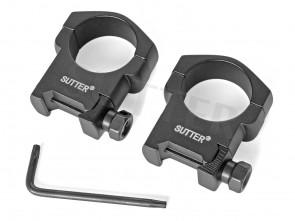 Montage Ringe d=30 * Für 19-21mm Weaver- und Picatinnyschiene STAHL