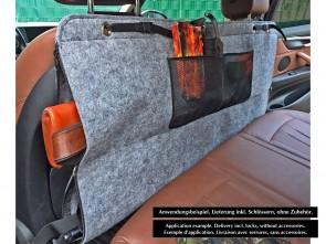 PKW Doppel-Waffentasche aus Filz - 120x60cm - Abschließbare Gewehrtasche