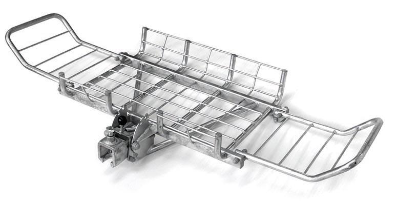 PKW Heckträger / Hecktransporter mit Abkippvorrichtung