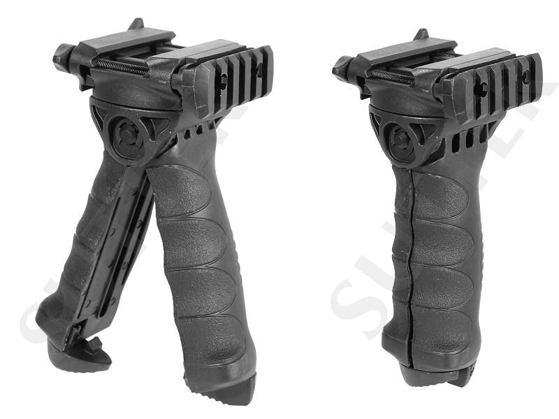 Vorderschaftstativ (Bipod) und Frontgriff / Tactical Folding Grip