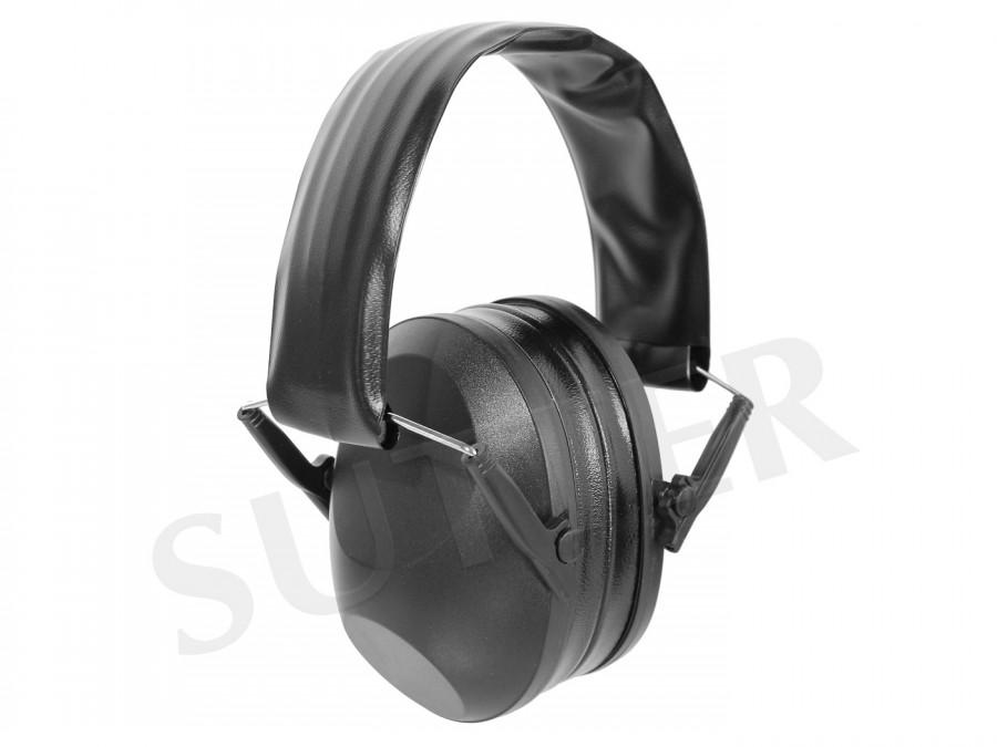 Hochwertiger Gehörschutz für Jäger und Schützen (schwarz)