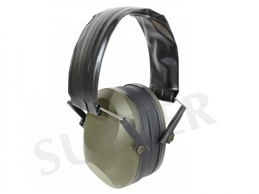 Hochwertiger Gehörschutz für Jäger und Schützen (dunkelgrün)