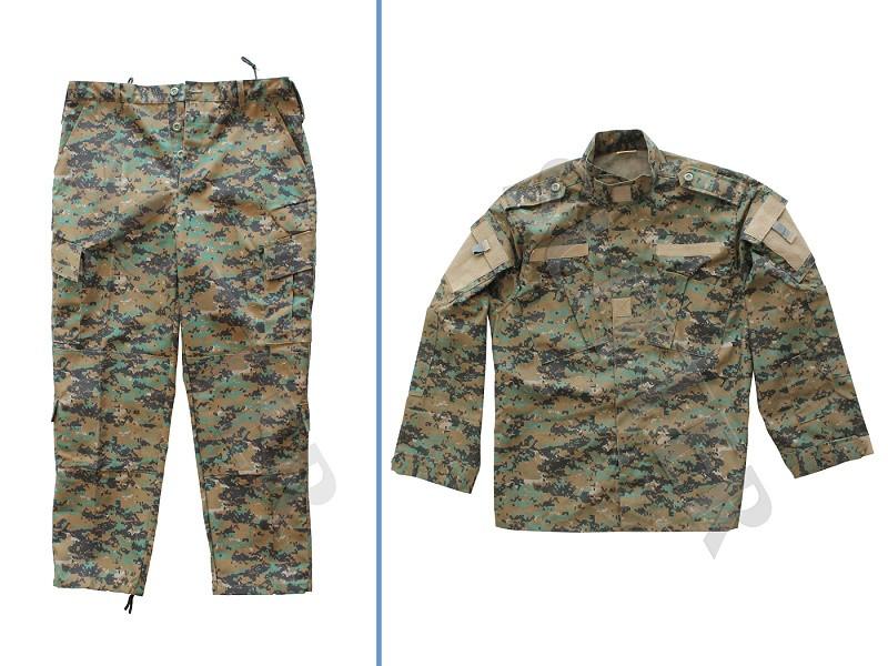 Herren Tarnhose & Jacke (Tarnanzug zweiteilig) Camo / Military