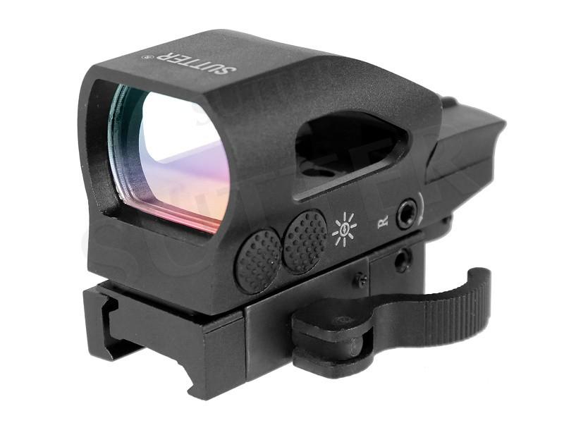 Multi Dot Zielvisier T8 (rot/grün) mit Schnellspannverschluss