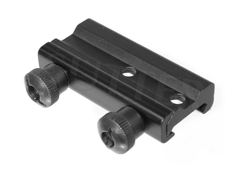 Adapterschiene für Zielvisier 4x32 - Passend für 11mm oder 19mm Schienen