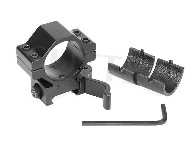 Schnellspannmontage Stark - Durchmesser 25,4mm & 30mm - Für 19mm Schienen