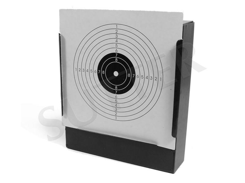 Kugelfang aus Metall K500 für Zielscheiben 14x14cm