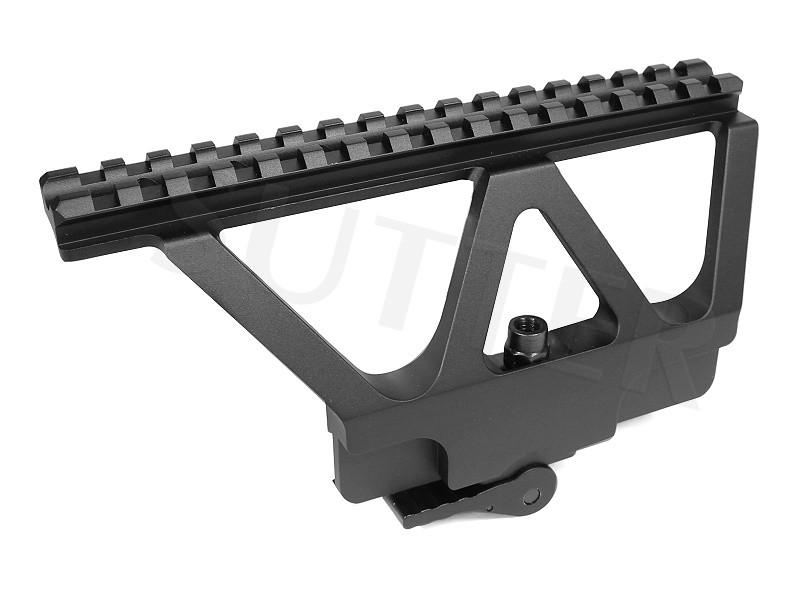 Schnellspann- Seitenaufschubmontage mit 21mm Schiene für AK47 Modelle