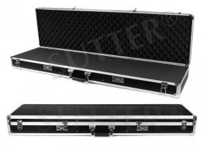 Aluminium Waffenkoffer 120x37x14cm - Jetzt optimal & preiswert für die Reisezeit - Kein Rutschen des Inhaltes!