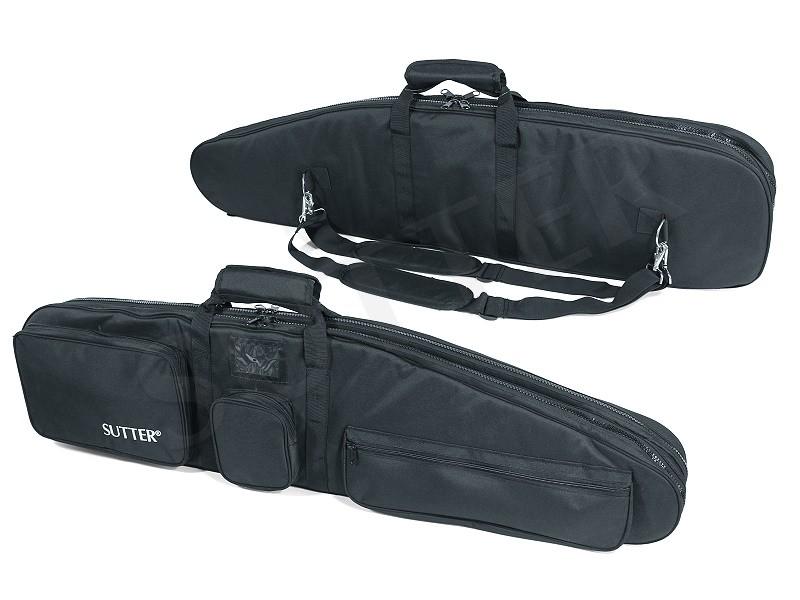 PREMIUM Doppel-Waffentasche 125x37cm - Gewehrtasche für zwei Langwaffen mit Optiken