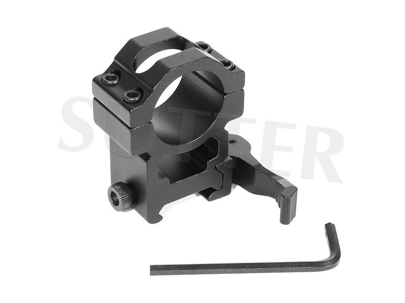 Schnellspannmontage Stark - Durchmesser 25,4mm - Für 19mm Schienen