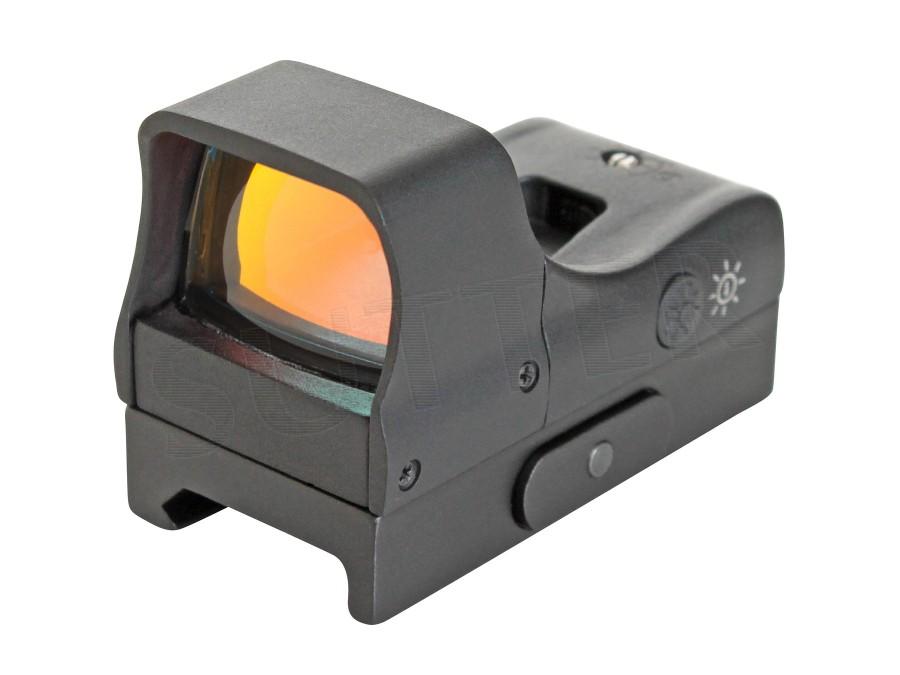 Red Dot Zielvisier 1x22 - Mit zwei Helligkeitsstufen für Weaver und Picatinnyschiene