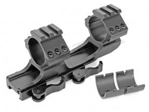 Stabile gekröpfte Schnellspann-Montageschiene für 19-21 mm Weaver- und Picatinnyschiene