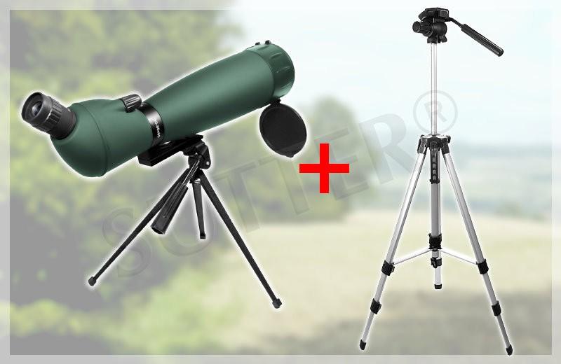 SUTTER® 30-90x90 Spektiv Grün-Armiert
